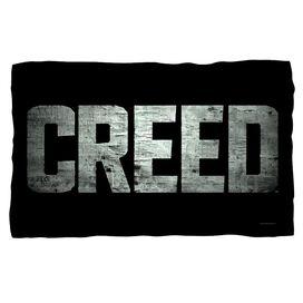 Creed Taped Logo Fleece Blanket