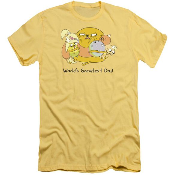 Adventure Time Worlds Greatest Dad Short Sleeve Adult T-Shirt