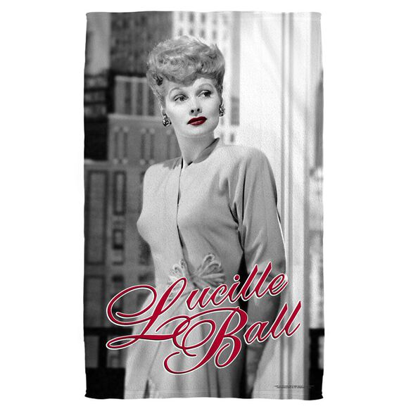 Lucille Ball City Girl Bath Towel