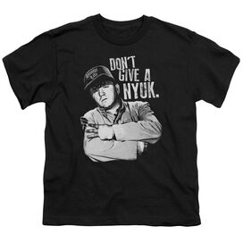 THREE STOOGES GIVE A NYUK - S/S YOUTH 18/1 T-Shirt