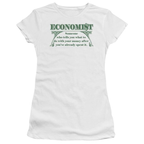 Economist What To Do Short Sleeve Junior Sheer T-Shirt