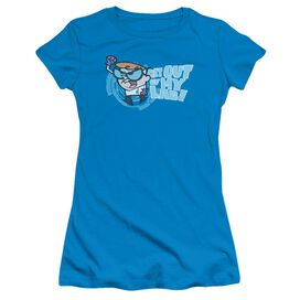DEXTERS LABORATORY GET OUT - S/S JUNIOR SHEER - TURQUOISE T-Shirt