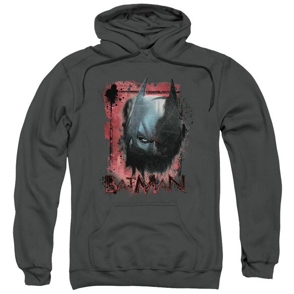 Dark Knight Rises Fear Me Adult Pull Over Hoodie