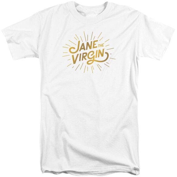 Jane The Virgin Golden Logo Short Sleeve Adult Tall T-Shirt