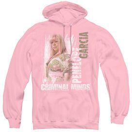 Criminal Minds Penelope - Adult Pull-over Hoodie - Pink