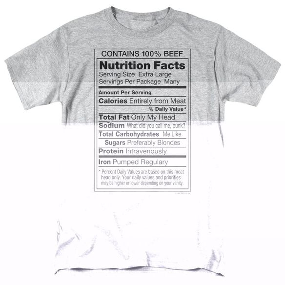 100% BEEF - ADULT 18/1 - ATHLETIC HEATHER T-Shirt