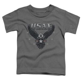 Air Force Incoming Short Sleeve Toddler Tee Charcoal T-Shirt