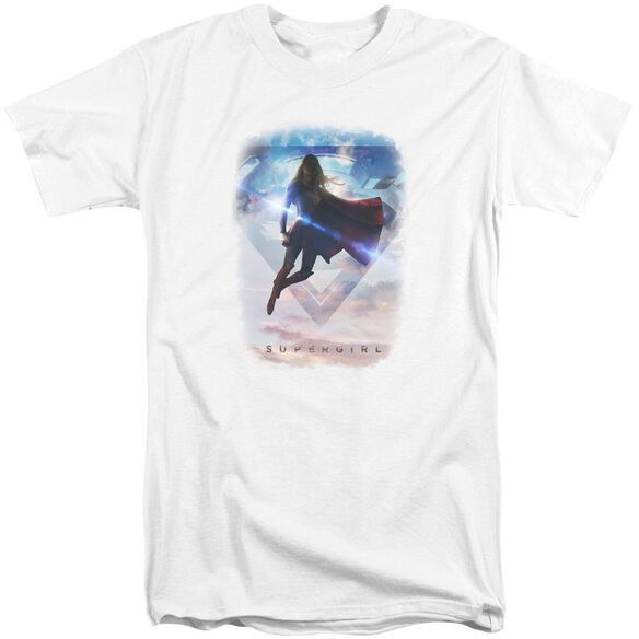 Supergirl Endless Sky Short Sleeve Adult Tall T-Shirt