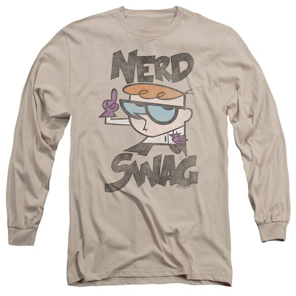 Dexters Laboratory Nerd Swag Long Sleeve Adult T-Shirt