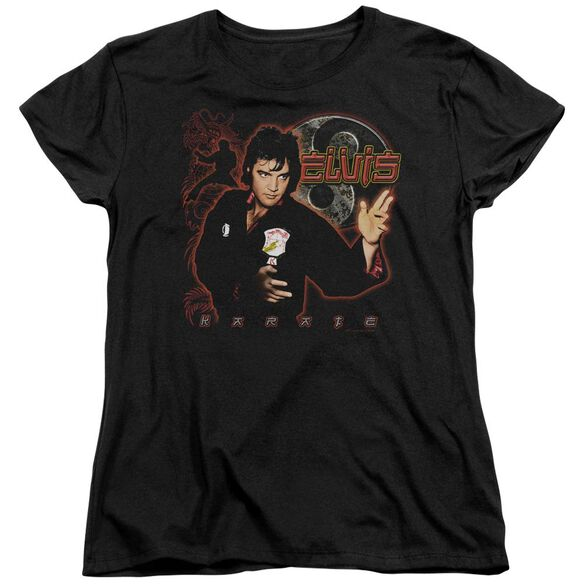 Elvis Presley Karate Short Sleeve Womens Tee T-Shirt