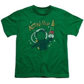 Astro Pop Astro Boy Short Sleeve Youth Kelly T-Shirt