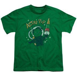 Astro Pop Astro Boy Short Sleeve Youth Kelly T-Shirt