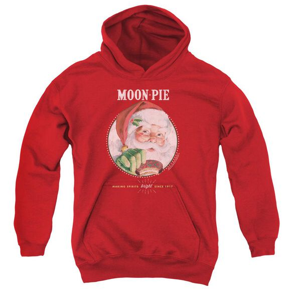 Moon Pie Snacks For Santa Youth Pull Over Hoodie