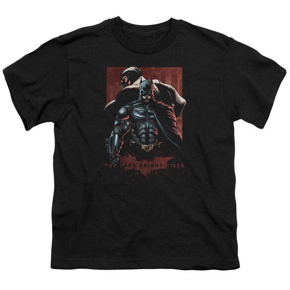 Dark Knight Rises Batman & Bane Short Sleeve Youth T-Shirt