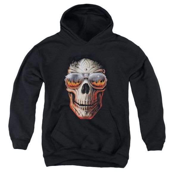 Anne Stokes Hellfire Youth Pull Over Hoodie