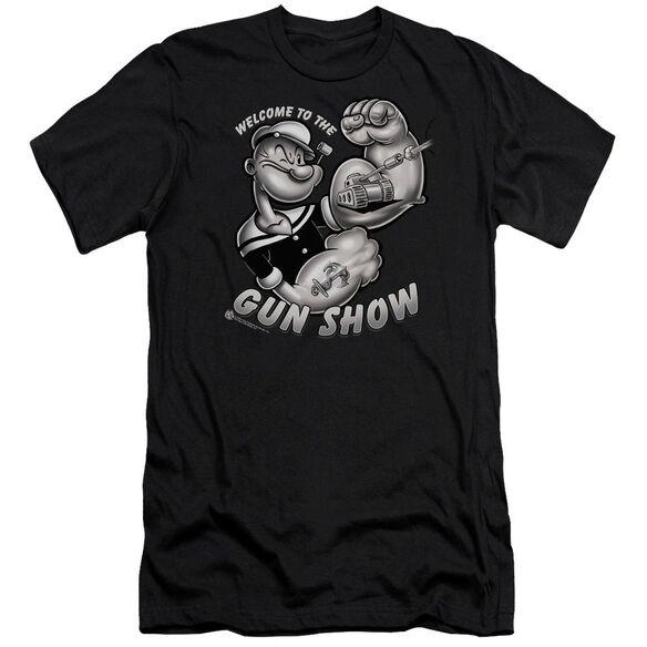 Popeye Gun Show Premuim Canvas Adult Slim Fit