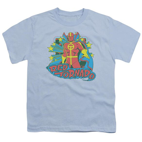 Dc Red Tornado Stars Short Sleeve Youth Light T-Shirt