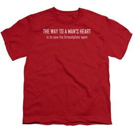 WAY TO A MANS HEART- T-Shirt