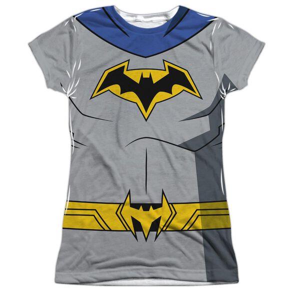 Batman Unlimited Batman Uniform Short Sleeve Junior Poly Crew T-Shirt