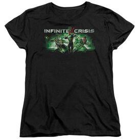 Infinite Crisis Ic Green Short Sleeve Womens Tee T-Shirt