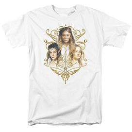 LOR WOMEN OF MIDDLE EARTH - S/S ADULT 18/1 - WHITE T-Shirt