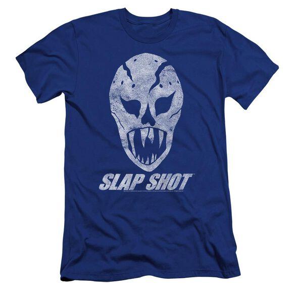 Slap Shot The Mask Premuim Canvas Adult Slim Fit Royal