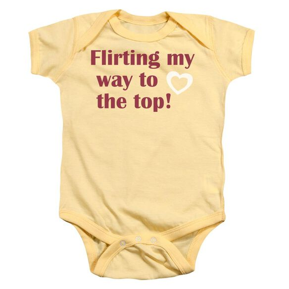 Flirting Infant Snapsuit Banana Md
