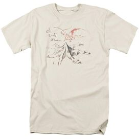 THE HOBBIT LONELY MOUNTAIN-S/S ADULT T-Shirt