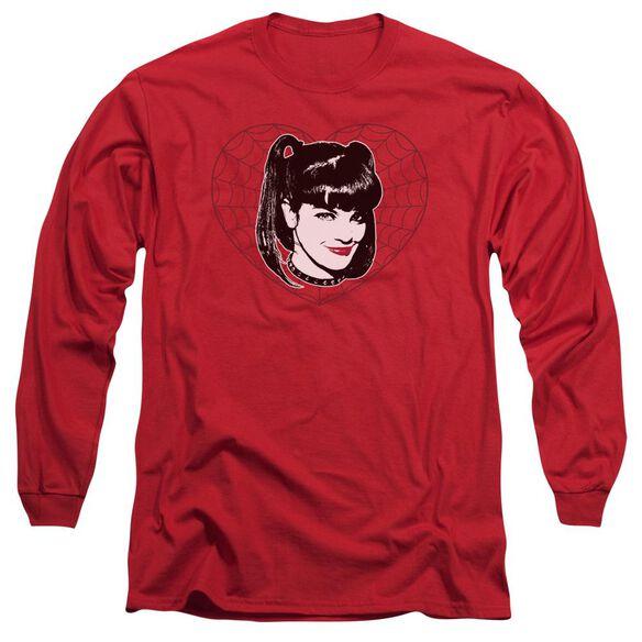 Ncis Abby Heart Long Sleeve Adult T-Shirt