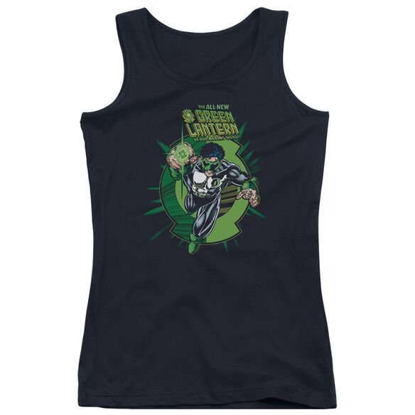 Green Lantern Rayner Cover Juniors Tank Top