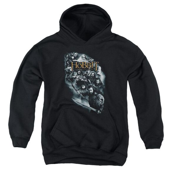 The Hobbit Cast Of Characters Youth Pull Over Hoodie