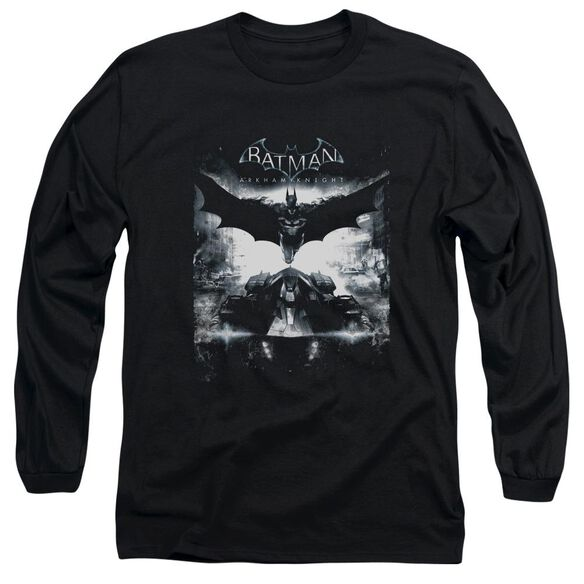 Batman Arkham Knight Forward Force Long Sleeve Adult T-Shirt