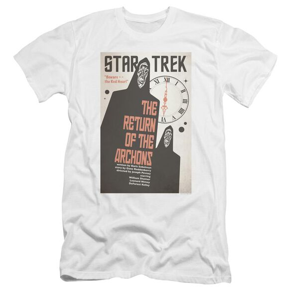 Star Trek Tos Episode 21 Premuim Canvas Adult Slim Fit