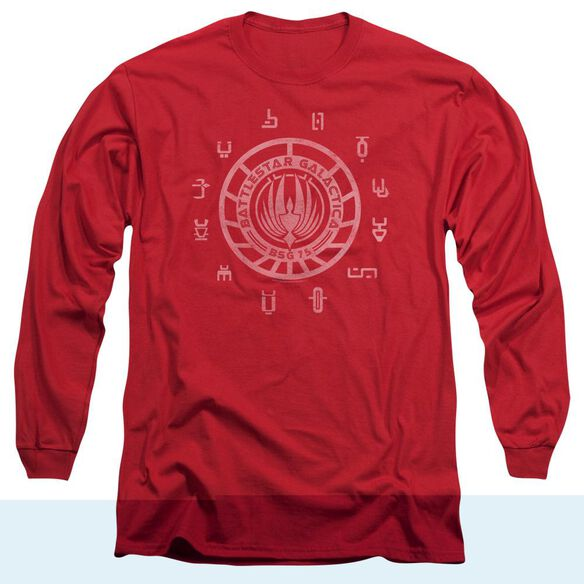 BSG COLONIES - L/S ADULT 18/1 - RED T-Shirt
