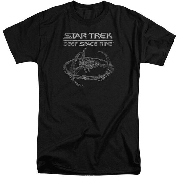 Star Trek Ds9 Station Short Sleeve Adult Tall T-Shirt