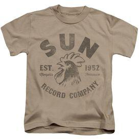 Sun Vintage Logo Short Sleeve Juvenile Sand T-Shirt