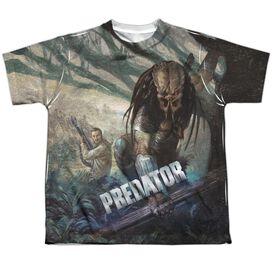 Predator Stalk Short Sleeve Youth Poly Crew T-Shirt