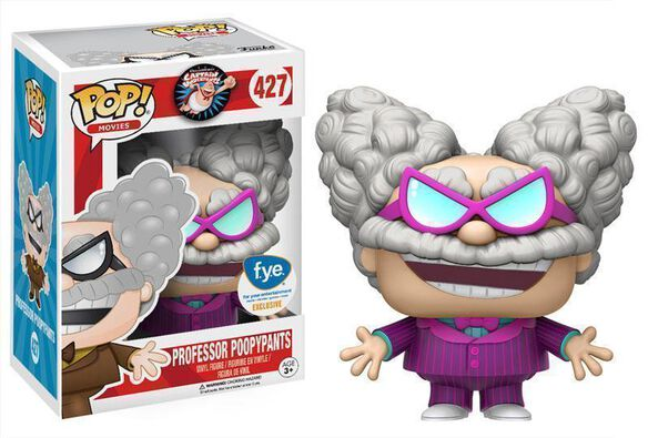 Exclusive Professor Poopypants (Pink Suit) Funko Pop!