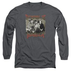 Three Stooges Moronica Long Sleeve Adult T-Shirt