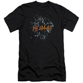 Def Leppard Broken Glass Hbo Short Sleeve Adult T-Shirt