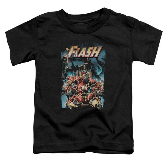 Jla Electric Chair Short Sleeve Toddler Tee Black T-Shirt