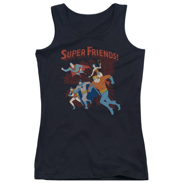 Dc Super Running - Juniors Tank Top - Black