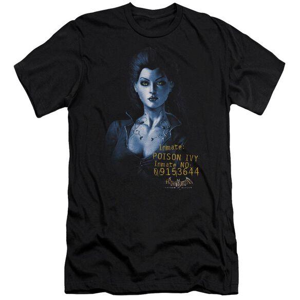 BATMAN AA ARKHAM POISON IVY - S/S ADULT 30/1 - BLACK T-Shirt