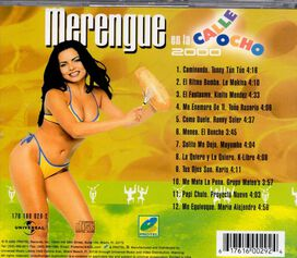 Various Artists - Merengue en la Calle 8 2000