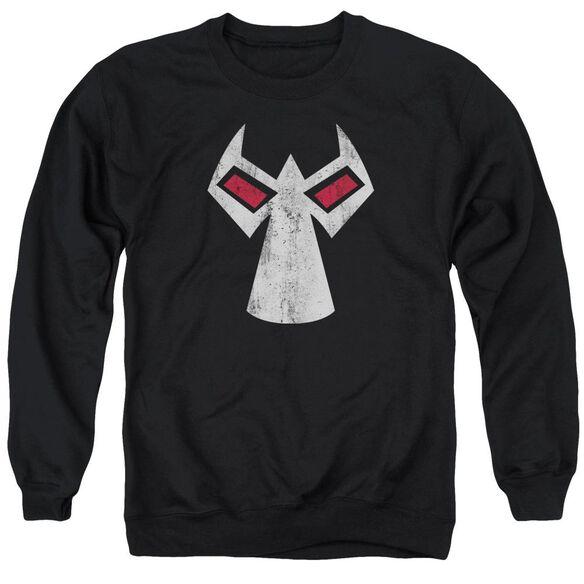 Batman Bane Mask Adult Crewneck Sweatshirt