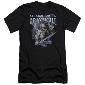 Masters Of The Universe Straight Outta Grayskull Short Sleeve Adult T-Shirt
