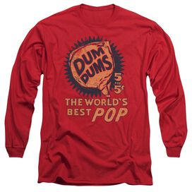 DUM DUMS 5 FOR 5 - L/S ADULT 18/1 - RED T-Shirt