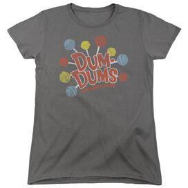 Dum Dums Original Pops Short Sleeve Womens Tee T-Shirt