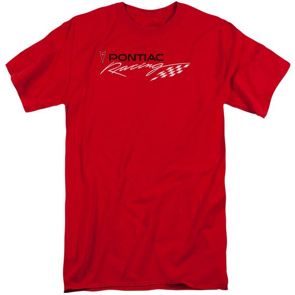 Pontiac Pontiac Racing Short Sleeve Adult Tall T-Shirt