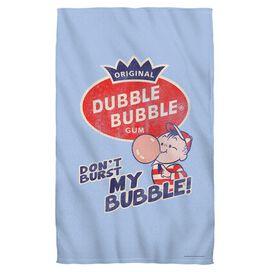 Dubble Bubble Burst Bubble Face Hand Towel